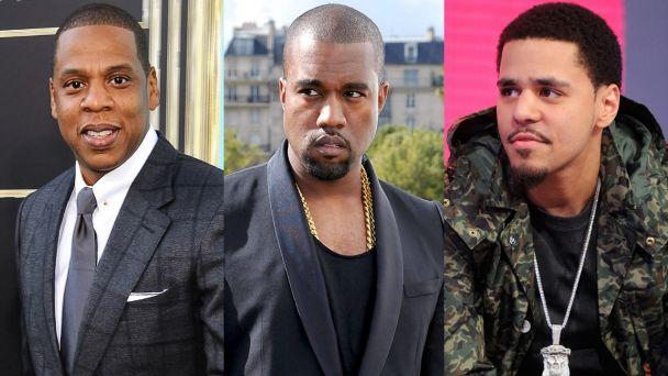 Jay Z, Kanye West, J.Cole