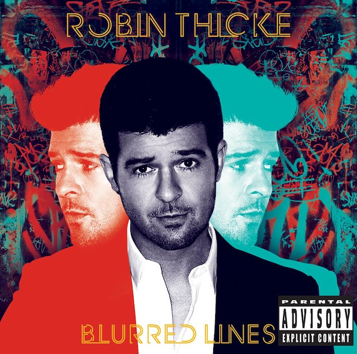 Robin Thicke's 'Blurred Lines' album cover