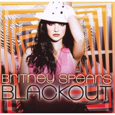The cover for Britney Spears' 'Blackout' album