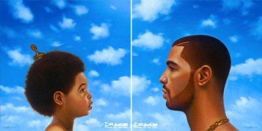 Drake's album cover for 'Nothing Was The Same' & 'Nothing Was The Same' Deluxe Edition