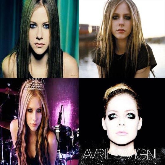 Avril Lavigne Throughout The Years