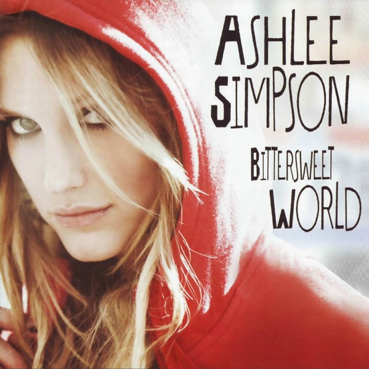 Ashlee Simpson 'Bittersweet World' album cover