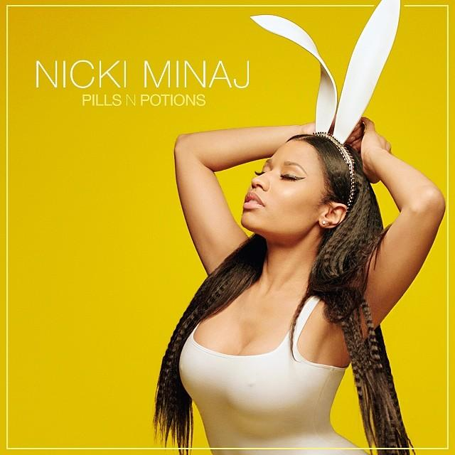 Nicki Minaj- 'Pills n Potions' Single Cover