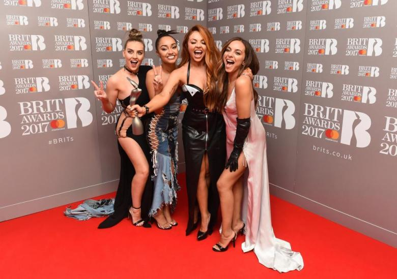 Little Mix at the Brit Awards 2017