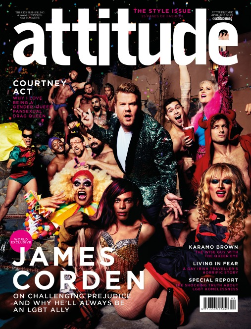 James Cordon Attitude Cover